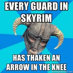 Everyone better look out,  there's someone out there aiming for knees.  lol