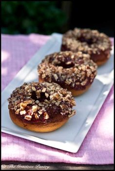 Clean Eating Doughnuts