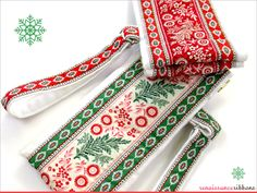 Yummy Renaissance Ribbons by French General #verymerrymodachristmas