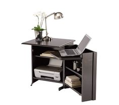 Hideaway Storage Desk.  Would be great since I don't have a room to dedicate to office.