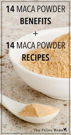 14 Maca Powder Recipes and 14 Maca Benefits | www.thepaleomama.com