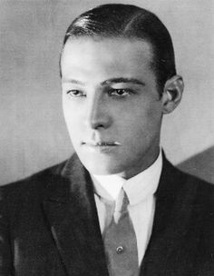 1921 portrait of Rudolph Valentino by Donald Biddle Keyes.