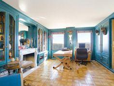 blue rooms, office interiors, office interior design, design art, art deco interiors