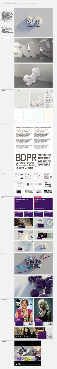 tv brand, tv interfac, des 02, design inspir, syfi rebrand, tv ident, brand ident
