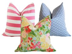 Affordable Spring Pillows $18-22 a cover!