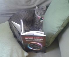 Princess reads Marketing in the Round!