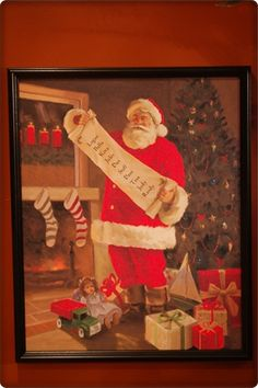 Personal Creations #Gifts  #Personalizedgifts Personal Creations Santa Canvas - Great Personalized Gifts via- http://www.AmericasMall.com/personalcreations-gifts