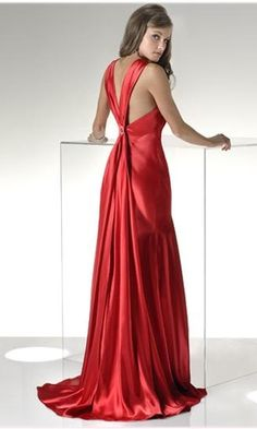 long red prom dress