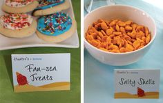 "cute names for ""under the sea"" food"
