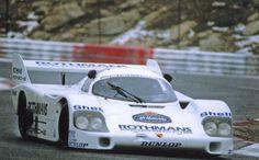 porsche956-001 Jacky Ickx test Porsche 956 in Paul Ricard 1982