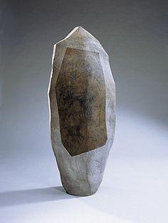 John Mason #ceramics #stoneware [Vertical Sculpture, Spear Form, 1957]