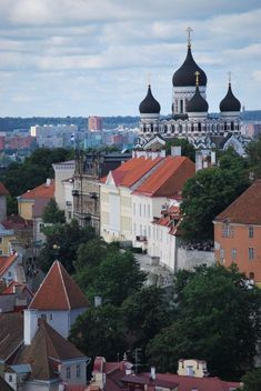 St. Alexander Nevski Cathedral - Tallinn, Estonia  #travel #estonia #tallinn #europe #smalltowns