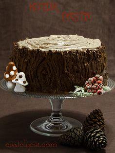 kütük pasta tarifi, cakes