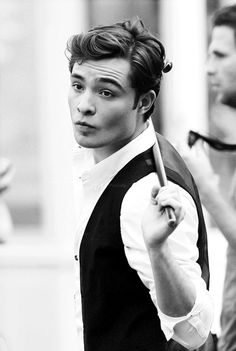 Charles bass, will you please marry me? peopl, gossipgirl, ed westwick, gossip girl, stylish clothes, men, xoxo, hair, chuck bass