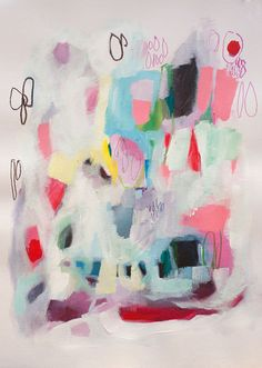 Lola Donoghue Art today on decor8