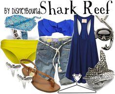 Shark Reef by disneybound