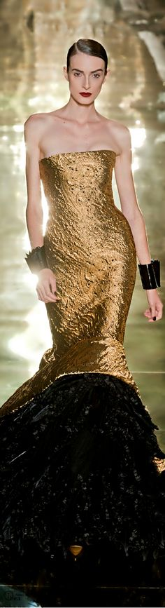 Georges Chakra holiday party dresses, gold weddings, coutur, georg chakra, gown, black gold, cuffs, dress pants, georges chakra