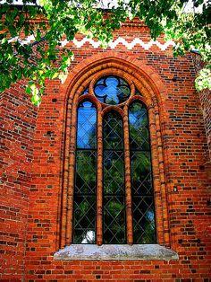 Window of Västerås Domkyrka, Sweden