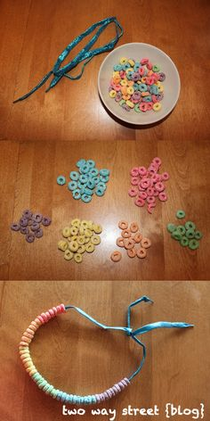 Learning Colors with Fruit Loops