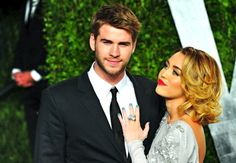 Miley Cyrus and Liam Hemsworth, congrats for getting ENGAGED!!