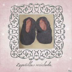 Las cositas de la tata: Zapatillas recicladas de unos pantalones vaqueros