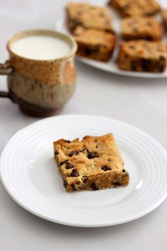 Grain-Free Chocolate Chip Cookie Bars - Gluten-Free + Dairy-Free by Tasty Yummies