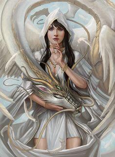 Fantasy artwork by Mictones.