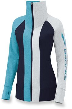 Get ready for cooler runs with the Brooks Glycerine Jacket.