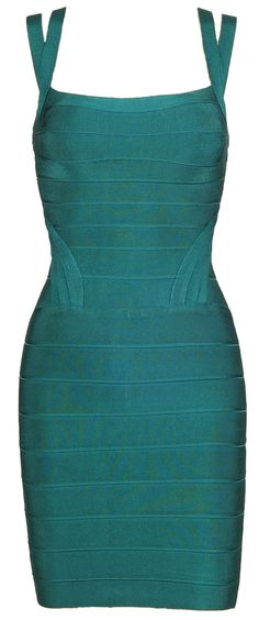 'Sophie' Teal Bodycon Bandage Dress