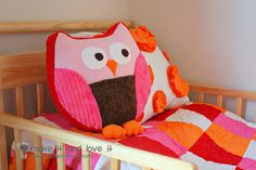 cute pattern for an owl.