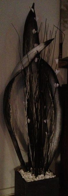 palm frond, paint palm