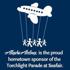 seafair 2012, alaska airlin, airlin seattl, seattl seafair