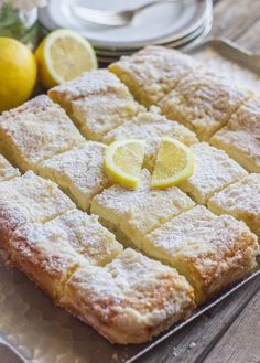 Greek Yogurt Cream Cheese Lemon Coffee Cake – the light lemon flavor, the sweet, moist coffee cake, and the crunchy, crumbly topping.
