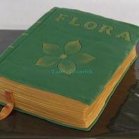 Flora book cake. Sweet!
