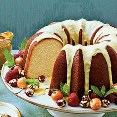 For a different twist on the General's favorite cake, try this moist and lemony Bundt recipe. It has its origins in an 1879 cookbook titled Housekeeping in Old Virginia.