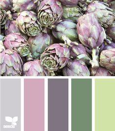 More Artichoke Hues - http://design-seeds.com/index.php/home/entry/more-artichoke-hues
