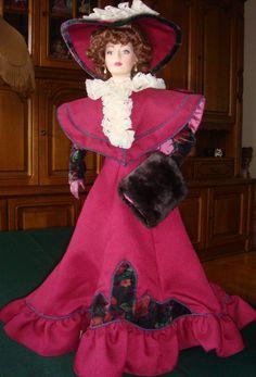 Clarissa The Gibson Girl in Vogue Franklin Mint Heirloom Dolls