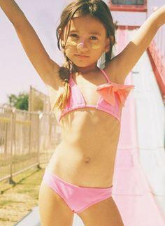 Little Girls Swimwear Images
