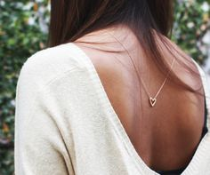 fashion, cloth, accessori, backward necklac, necklaces, wear, woman style, jewelri, heart necklac