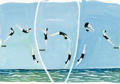 """""""Divers"""" by Maira Kalman."""