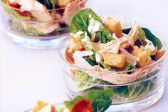 Low-fat chicken Caesar salad main image