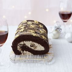 Chocolate and Coffee Roulade recipe... This light-as-air roulade will have everyone asking for seconds
