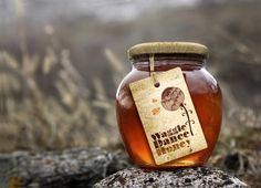 Unique Packaging Design on the Internet, Waggle Dance Honey #packagingdesign #packaging #design http://www.pinterest.com/aldenchong/
