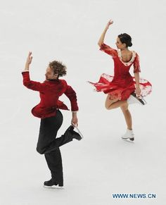 dance in ice photography