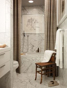 Design Chic: Things We Love: Chairs in Bathrooms