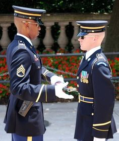 Changing of the Guard, Tomb of the Unknown Soldier, Arlington National Cemetary
