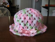 Free Crochet Super Easy Baby Hat Pattern