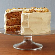 Carrot Cake #thanksgiving #desserts #holidays