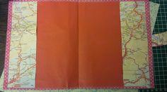 FRIEMEL EN TINUS: Mapje van een anwb wegenkaart