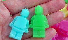 These LEGO soaps are so cute!